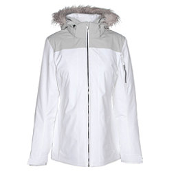 Spyder Entice Womens Insulated Ski Jacket, White, 256