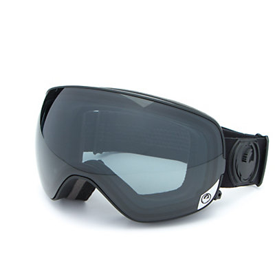 Dragon X2s Goggles 2017, Knight Rider-Dark Smoke + Bonus Lens, viewer