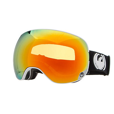 Dragon X2 Goggles, Hone Blue-Optimized Flash Blue + Bonus Lens, viewer