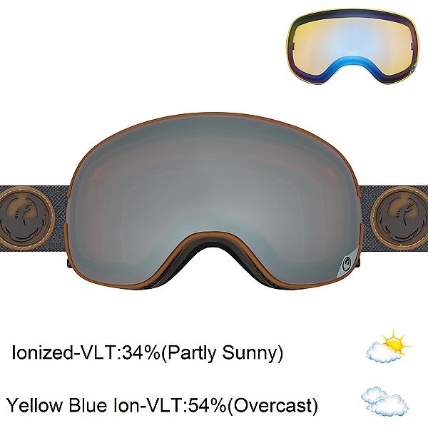 Dragon X2 Goggles, Gumm-Ionized + Bonus Lens, 600