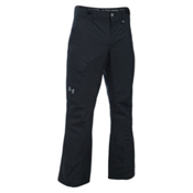 Under Armour ColdGear Infrared Chutes Shell Mens Ski Pants, Black-Graphite-Steel, medium