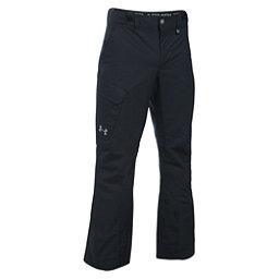 Under Armour ColdGear Infrared Chutes Shell Mens Ski Pants, Black-Graphite-Steel, 256