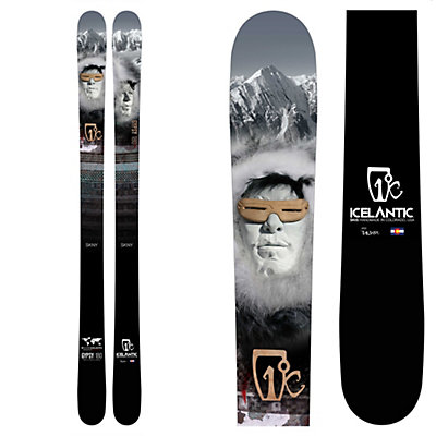 Icelantic Gypsy SKNY Skis, , viewer