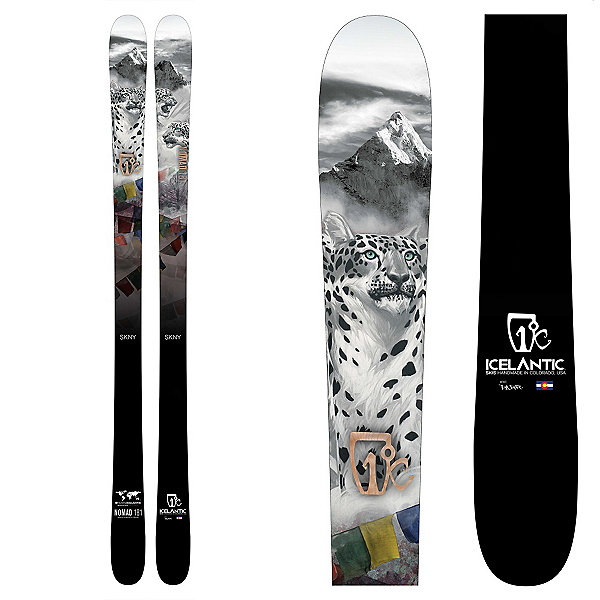 Icelantic Nomad SKNY Skis, , 600