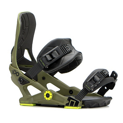 NOW IPO Snowboard Bindings 2017, Army Green, viewer