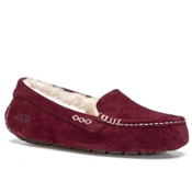 UGG Ansley Womens Slippers, Mahogany, medium