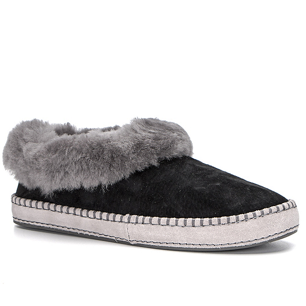 UGG Wrin Womens Slippers, Black, 600