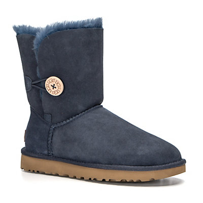 UGG Bailey Button II Womens Boots, Navy, viewer