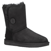 UGG Bailey Button II Womens Boots, Black, medium