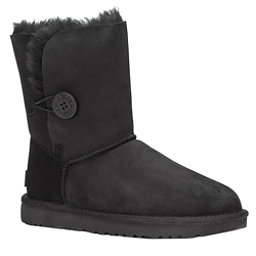 UGG Bailey Button II Womens Boots, Black, 256