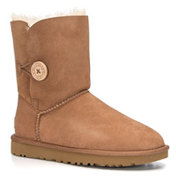 UGG Bailey Button II Womens Boots, Chestnut, 256