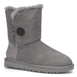 UGG Bailey Button II Womens Boots, Grey, 256
