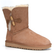 UGG Keely Womens Boots, Chestnut, medium