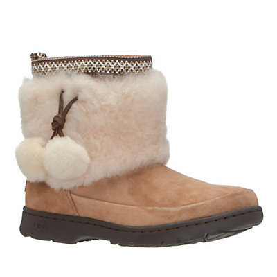 UGG Brie Womens Boots, Chestnut, viewer