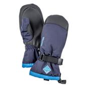 Hestra CZone Gauntlet Kids Mittens, Dark Blue-Turquoise, medium