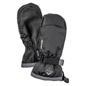 Hestra CZone Gauntlet Kids Mittens, Black-Graphite, medium