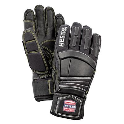 Hestra Impact Racing Ski Racing Gloves, Black-Red, viewer