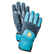 Hestra Fall Line Womens Gloves, Navy-Turquoise, medium