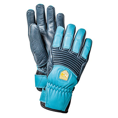 Hestra Fall Line Womens Gloves, Navy-Turquoise, viewer
