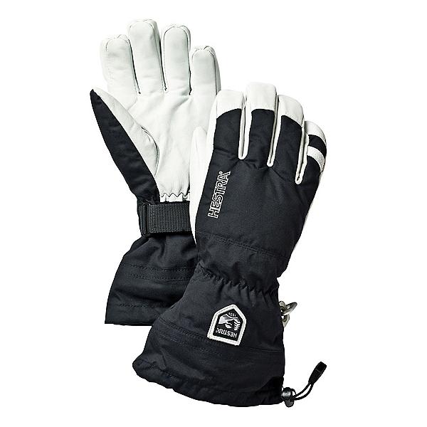 Hestra Heli Gloves, Black, 600