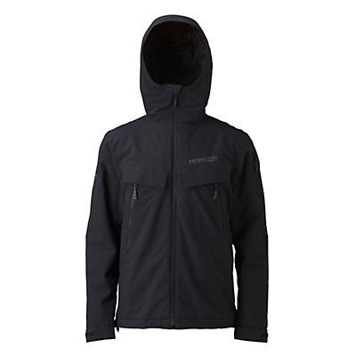 Marker Fall Line Mens Insulated Ski Jacket, Black, viewer