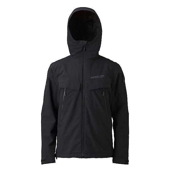 Marker Fall Line Mens Insulated Ski Jacket, Black, 600