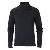 Marker Loveland 1/2 Zip Mens Long Underwear Top, Black, medium