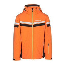 Karbon Chromium Mens Insulated Ski Jacket, Pylon-Black-Arctic White-Lime, 256