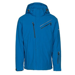 Karbon Helium Mens Insulated Ski Jacket, Olympic Blue-Olympic Blue-Blac, 256