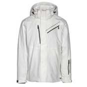 Karbon Helium Mens Insulated Ski Jacket, Arctic White-Arctic White-Blac, medium