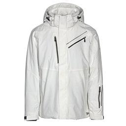 Karbon Helium Mens Insulated Ski Jacket, Arctic White-Arctic White-Blac, 256