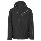 Karbon Helium Mens Insulated Ski Jacket, Black-Black-Black, medium