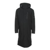 Karbon Radon Mens Insulated Ski Jacket, Black-Black, medium