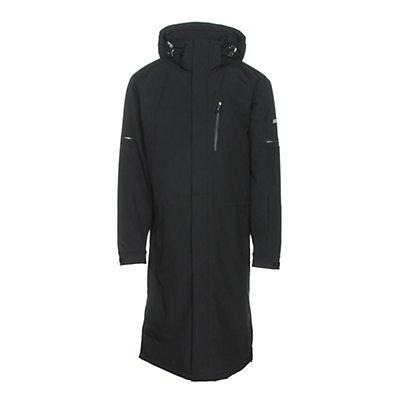 Karbon Radon Mens Insulated Ski Jacket, Black-Black, viewer
