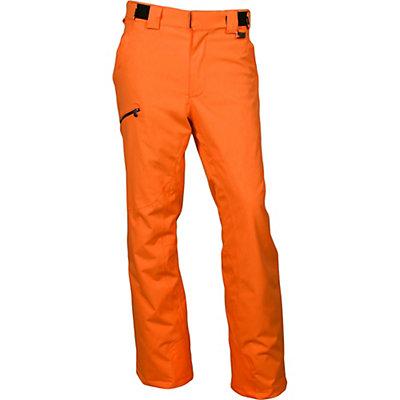 Karbon Silver Short Mens Ski Pants, Black-Black, viewer