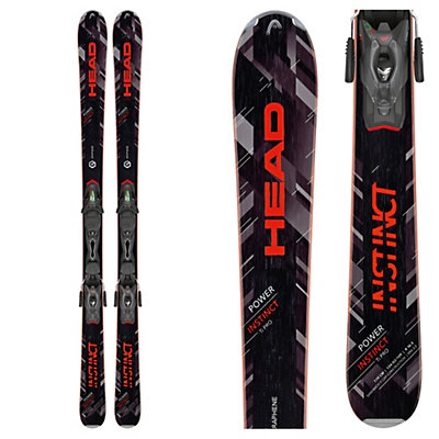 Head Power Instinct Ti Pro Skis with PRX 12 Bindings 2017, , viewer