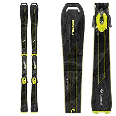 Head Super Joy Womens Skis with 11 SLR Bindings 2017, , viewer