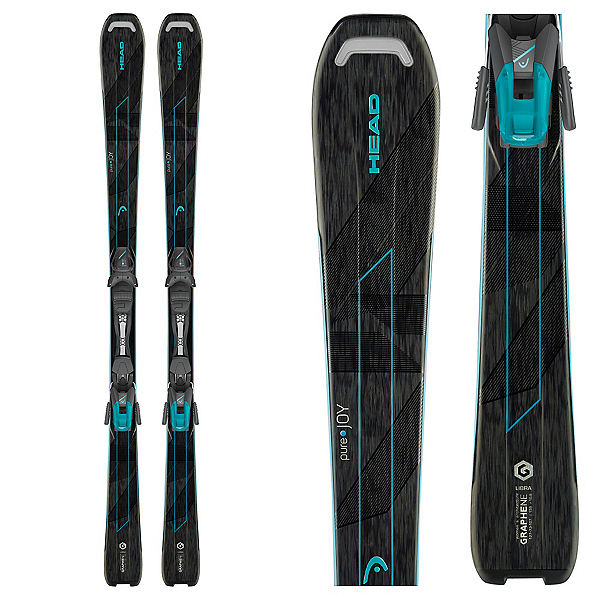 Head Pure Joy Womens Skis with 9 SLR Bindings 2017, , 600