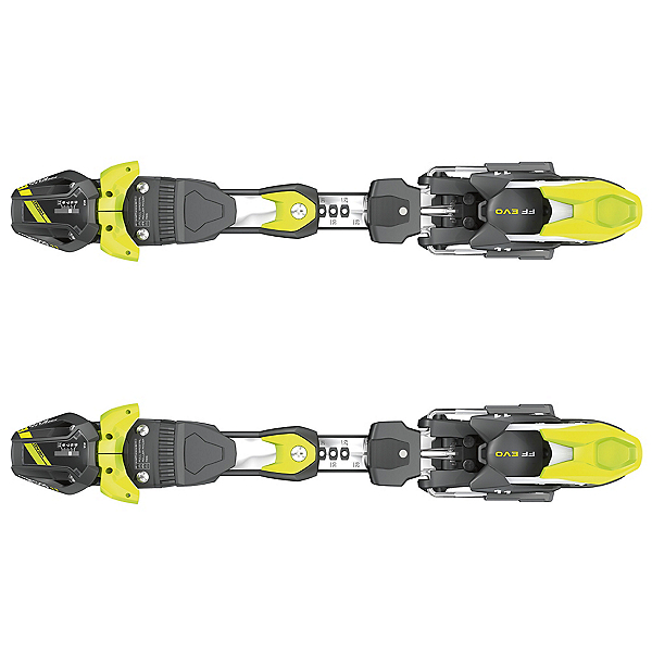 Tyrolia FreeFlex EVO 11 Ski Bindings 2017, Black-White-Flash Yellow, 600
