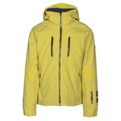 Descente Anton Mens Insulated Ski Jacket, Yellow, medium