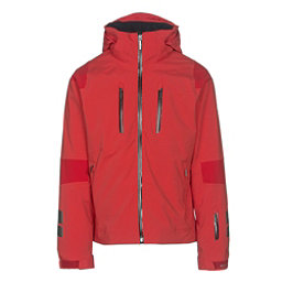 Descente Anton Mens Insulated Ski Jacket, Electric Red-Gunmetal-Black, 256