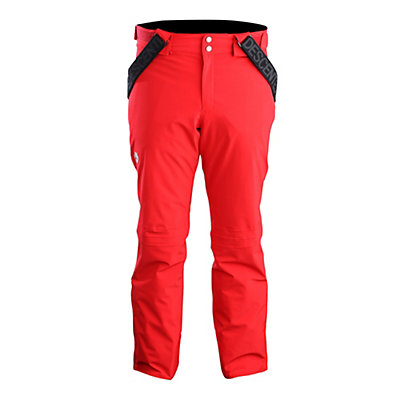 Descente Swiss Mens Ski Pants, Electric Red, viewer