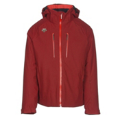 Descente Rogue Mens Insulated Ski Jacket, Desert Red, medium