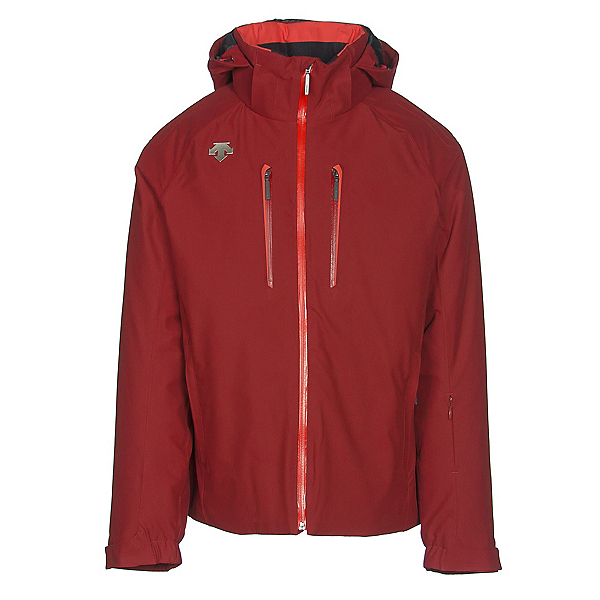 Descente Rogue Mens Insulated Ski Jacket, Desert Red, 600