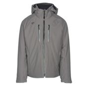 Descente Rogue Mens Insulated Ski Jacket, Gray, medium