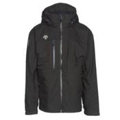 Descente Moe Mens Shell Ski Jacket, Black, medium