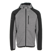 Descente Focus Mens Jacket, Gray-Black, medium