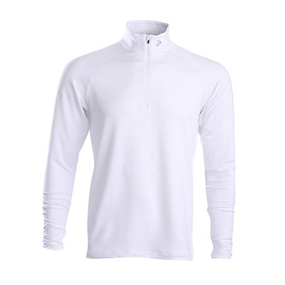 Descente Hans T-Neck Mens Mid Layer, Super White, viewer