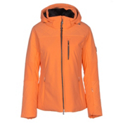 Descente Mira Womens Insulated Ski Jacket, Candy Orange, medium