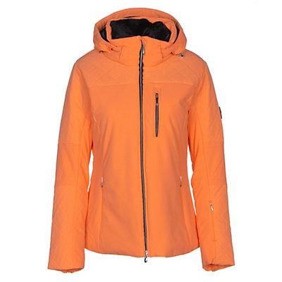 Descente Mira Womens Insulated Ski Jacket, Candy Orange, viewer